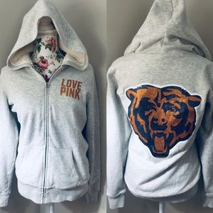 VS Pink NFL Chicago Bears full zip jacket